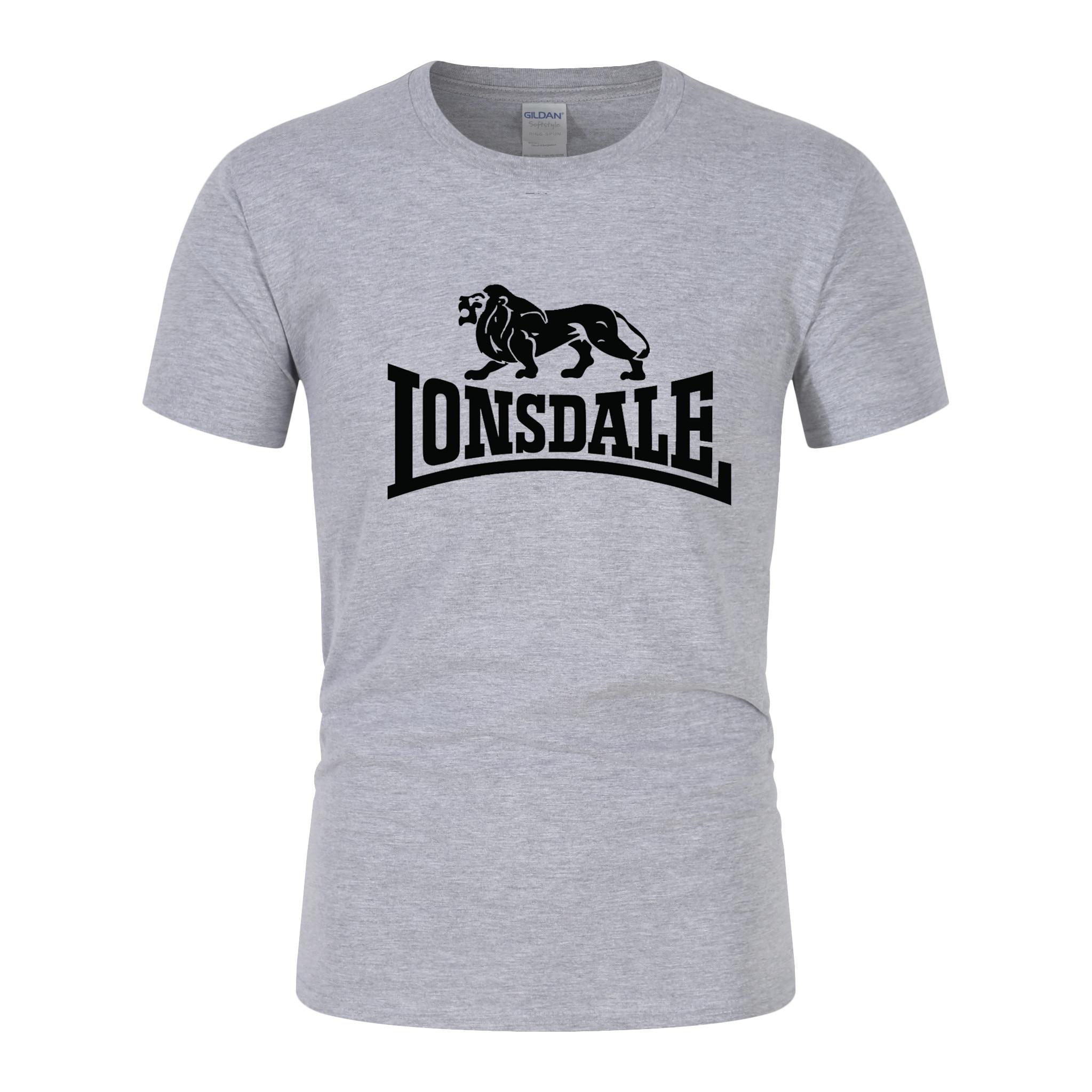 Camiseta de marca superior de verano para hombres Camiseta de algodón de manga corta Casual para correr ropa deportiva transpirable de Fitness