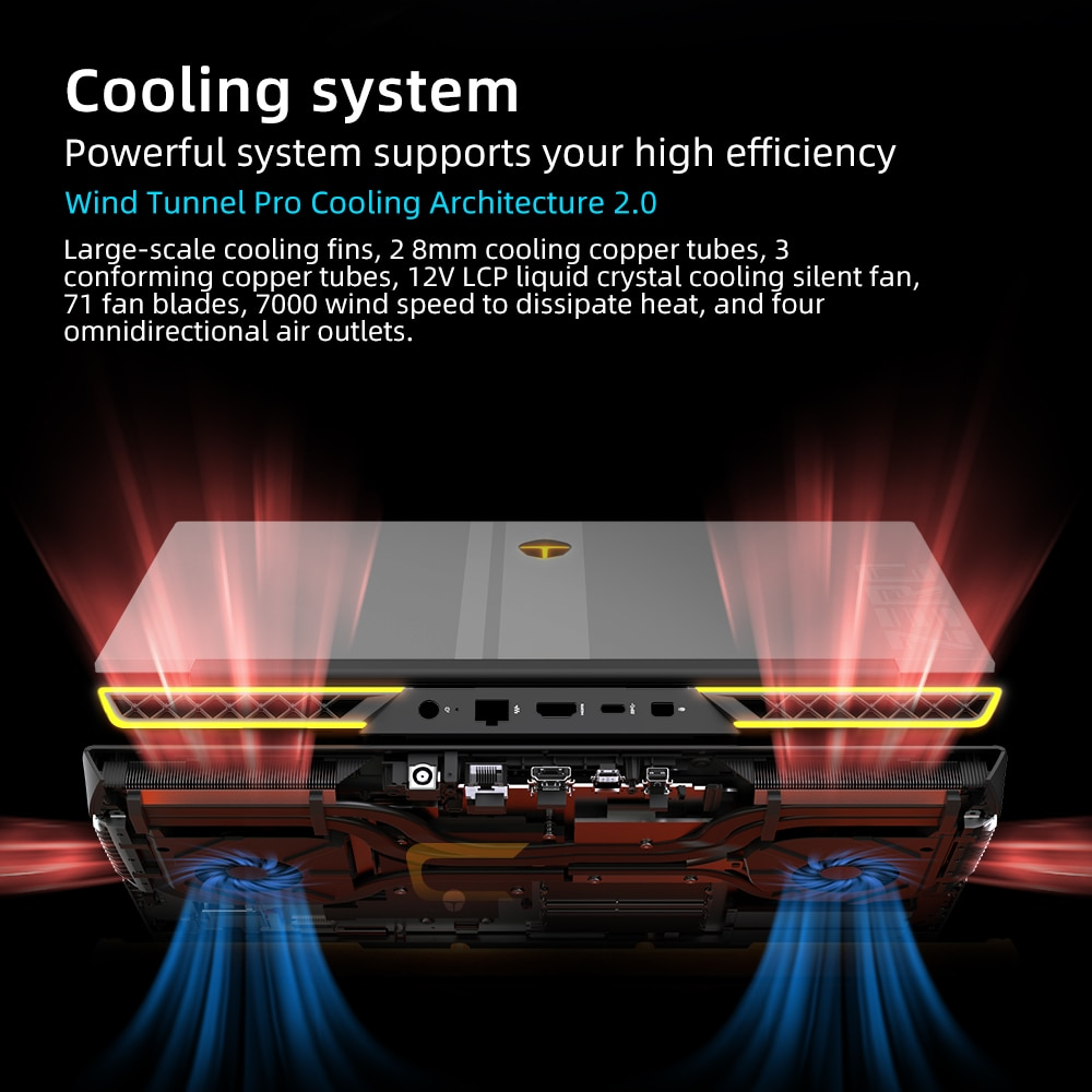 ZERO RTX3060 i7-11800H Gaming Laptop 165Hz 16'' inch 2.5K 16:10 WiFi6 Windows 10 pro Notebook Computer Laptops 2 Years Warranty