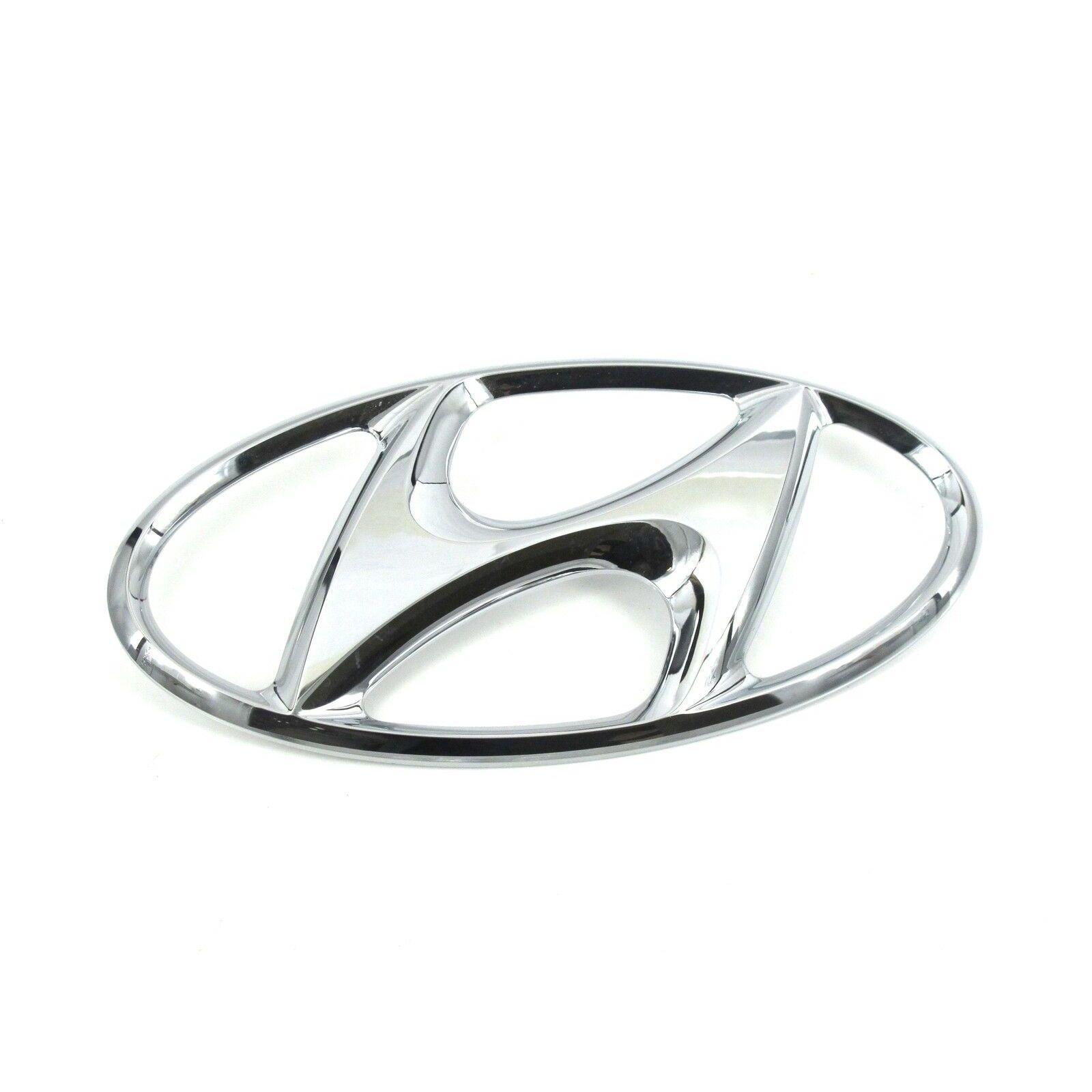 Emblema delantero Hyundai Accent nuevo original 86300-38000