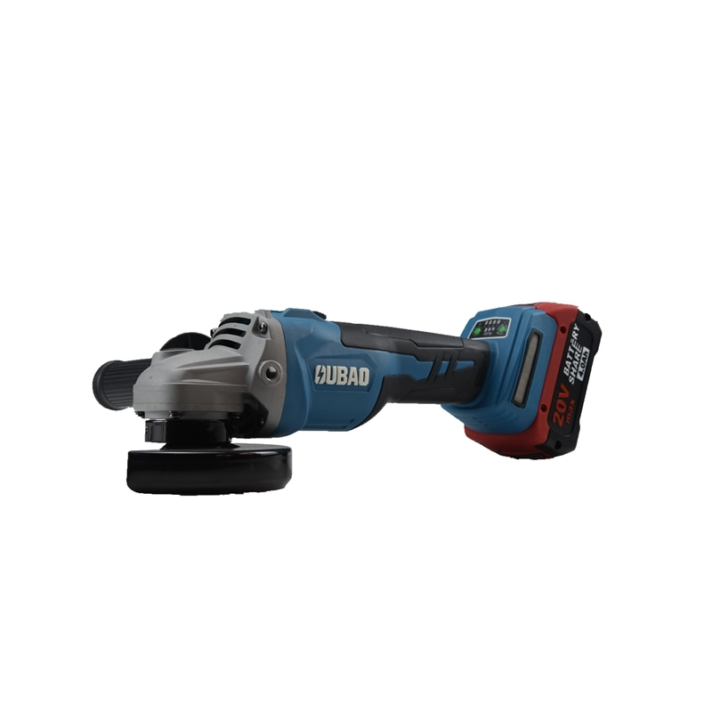 High quality lithium battery angle grinder, new blue portable angle grinder, metal cutting machine enlarge