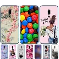 for meizu 16th cases 6 0 silicone case for meizu 16th plus etui cover 6 5soft tpu phone back cover bumper coque etui cartoon
