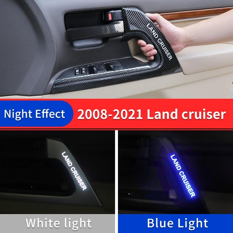 Led مقبض تويوتا لاند كروزر 200 تعديل الداخلية مجموعة السيارة الأصلية اكسسوارات Fj200/LC200 الديكور أجواء ضوء