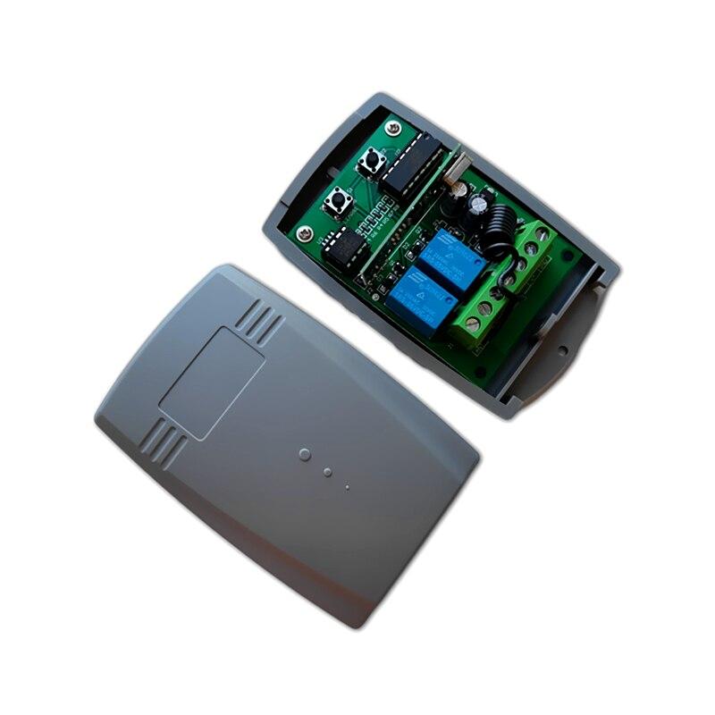 AVIDSEN 114253, mando a distancia, abridor de puerta de garaje, 433mhz, mando a distancia inalámbrico de código rodante para detener el receptor de garaje