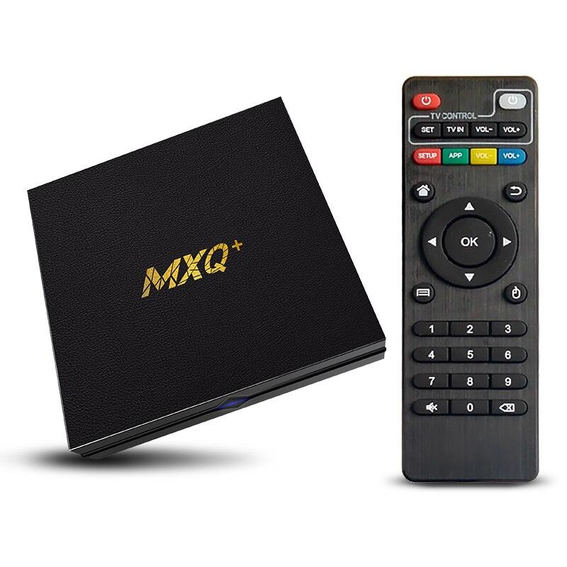 2021 جديد MXQ + صندوق تلفاز ذكي Android10.0 دعم S905Lchip 2GB 16GB HD ثلاثية الأبعاد 2.4GWiFi لجوجل بلاي يوتوب ميديا بلاير مجموعة صندوق