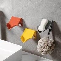 Boite a savon pour salle de bain  stockage de produits menagers  egouttage  supports de finition  autocollants solides sans couture  boite gratuite