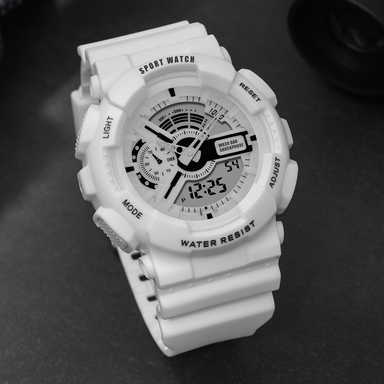 Часы PANARS мужские g-Style Shock водонепроницаемые женские мужские часы светодиодные цифровые электронные наручные часы для девочек и мальчиков в...