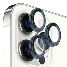 For iPhone 12 Pro Max Single Metallic Camera Lens Protector Accessories Ptotective Glass For iphone