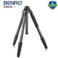 DHL gopro Benro c3580t classic series carbon fiber tripod professional slr tripod max load 18 KG wholesale