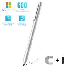 Nouveau stylet pour Microsoft Surface 3/Go/Book/Pro 3/4/5/6, stylet actif (rejet de la paume) avec sensibilité à la pression de 4096