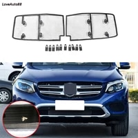 car insect screening mesh front grille insert net front insect screening mesh grille for mercedes benz glc 2017 2018 2019 2020