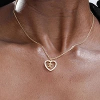 a z initial heart pendant letter necklaces gold choker chain necklace zircon necklace for women jewlry christmas gifts 2020 new