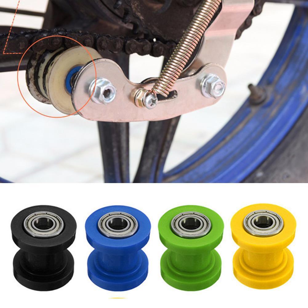 10mm motocicleta Dirt bicicleta cadena polea rodillo rueda tensor guía accesorios de motocicleta nuevo видеорегистратор caliente