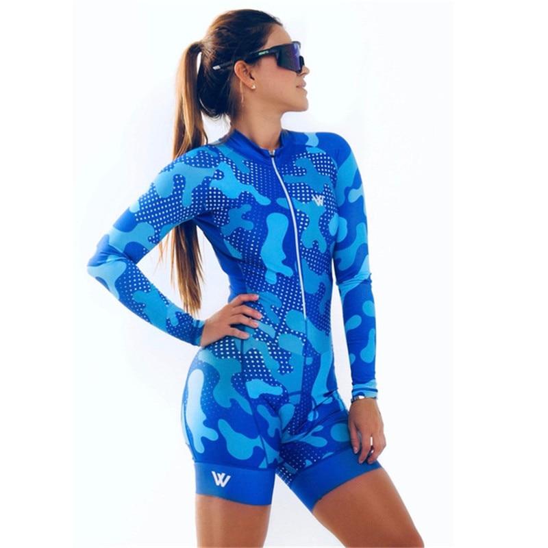 Vvsports женский дизайн велосипедный Триатлон летняя рубашка с длинными рукавами, комбинезон для гонок Pro скафандр плавательный Велоспорт одеж...