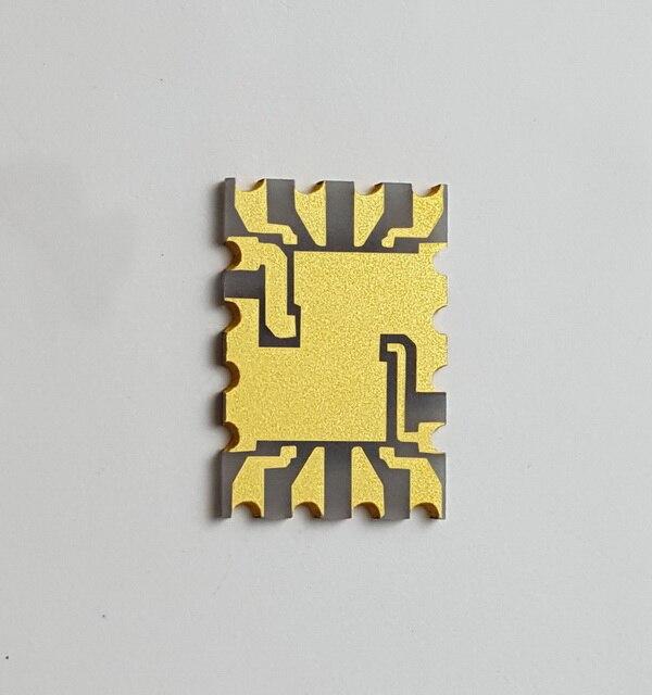 تخصيص الألومنيوم نتريد AlN الألومينا الركيزة السيراميك لوحة دوائر كهربائية بالوعة الحرارة عالية الموصلية الحرارية لوحة دوائر كهربائية ليزر
