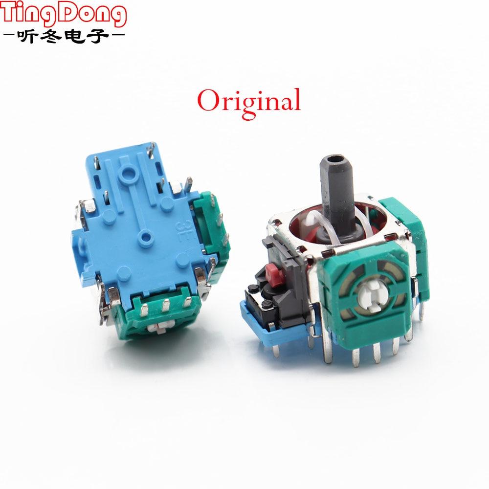 2PCS /LOT  Original 3D Analog Sensor 3D Analog Axis 3D Joystick Potentiometer For PS4 Controller