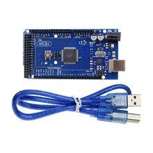 Carte ATmega2560-16AU Mega 2560 R3 Mega2560 REV3 avec câble USB pour compatible Arduino Mega 2560 r3