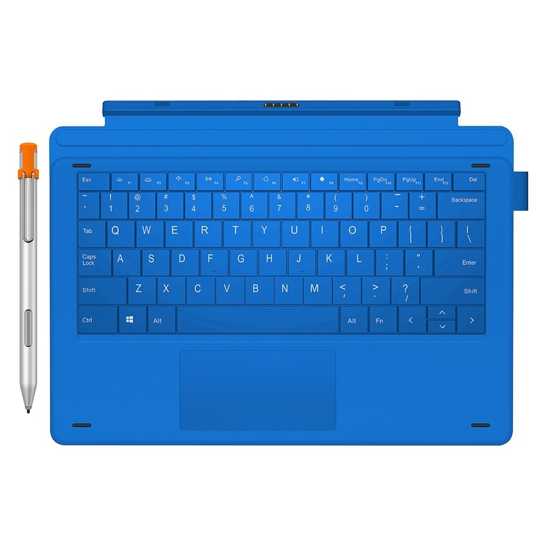 2 in 1 Docking Keyboard /netic Keyboard with H6 Stylus Pen Outfit for CHUWI Ubook Pro 12.3 Inch Tablet PC