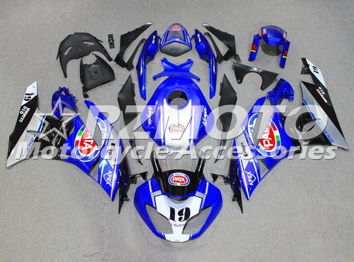 Kit de carenados completos de ABS para motocicleta kawasaki Ninja, ZX-6R, ZX6R,...
