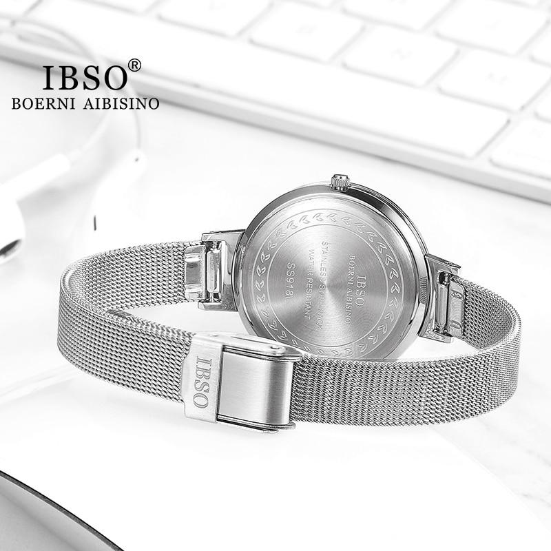Fashion Silver Stainless Steel Women's Watch Elegant Metal Wristwatch Female 2021 with Two Strap Clock Set Zegarek Damski enlarge