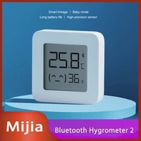 2020New Version Xiaomi Mijia Bluetooth Thermometer 2 Wireless Smart Electric Digital Hygrometer Thermometer Humidity Sensor Home