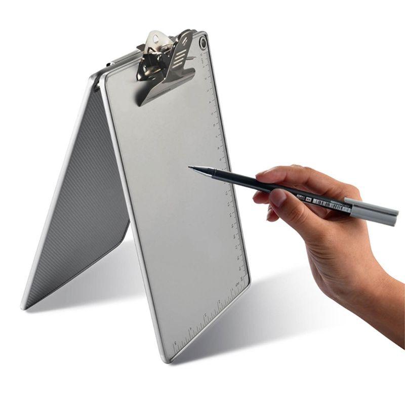 A4/A5 en alliage daluminium écriture Clip conseil antidérapant fichier Hardboard règle papier tenir W91A