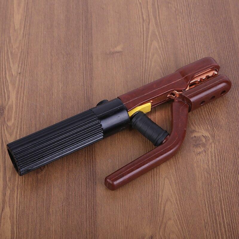 1pcs 800A Electrode Holder Stick Welder Copper Welding Rod Stinger Anti-leakage Handle Clamp Tool Heat Resistant Equipment