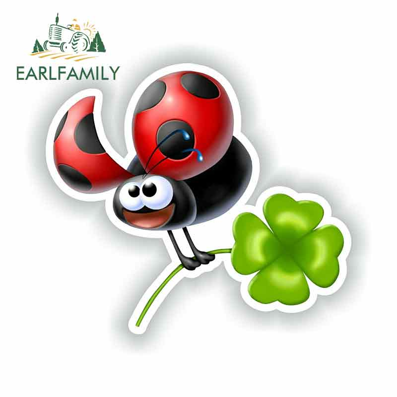 AliExpress - EARLFAMILY 13cm For Ladybug Fine Decal Personality Stickers Vintage Drag Racing Decal Sticker Car Styling Body For Car Decor