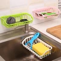 multifunctional durable suction cup dishwashing sponge holder hanging storage rack drain rack sink shelf kitchen accessories