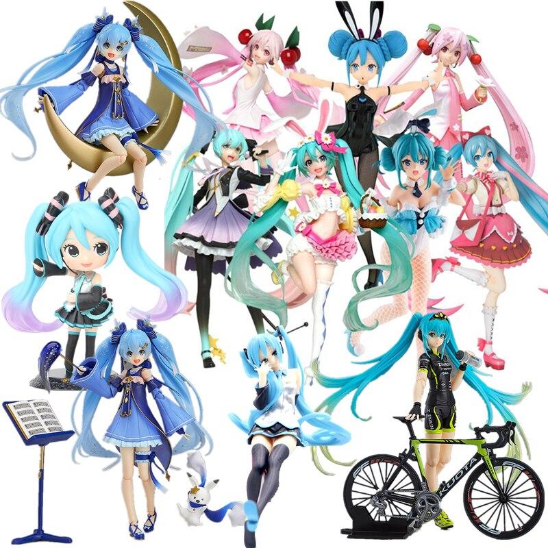 figuras-de-accion-de-anime-japones-kawaii-7-estilos-ropa-negra-pelo-morado-sakura-juguetes-de-figura-de-pvc-en-miniatura-para-ninas-cumpleanos