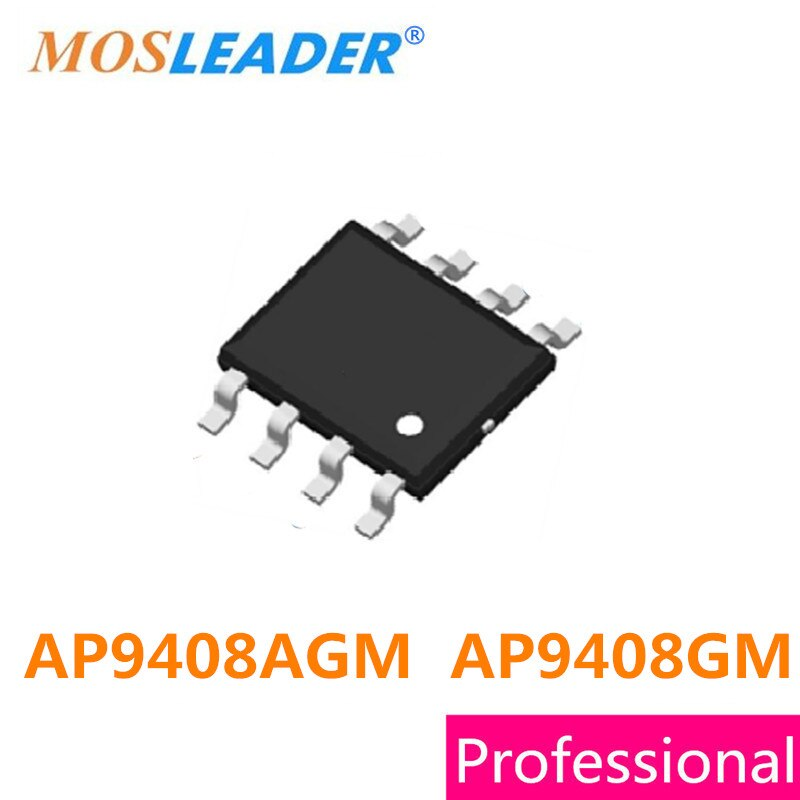 Mosleader AP9408AGM AP9408GM SOP8 100 قطعة AP9408A AP9408G AP9408 عالية الجودة