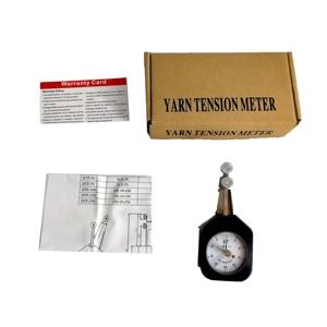 Yarn Tensionmeter Pointer Dual Needles Textile Industry of Tiny Metal Wire Tension Meter Gauge Minimum Scale Value 1gw