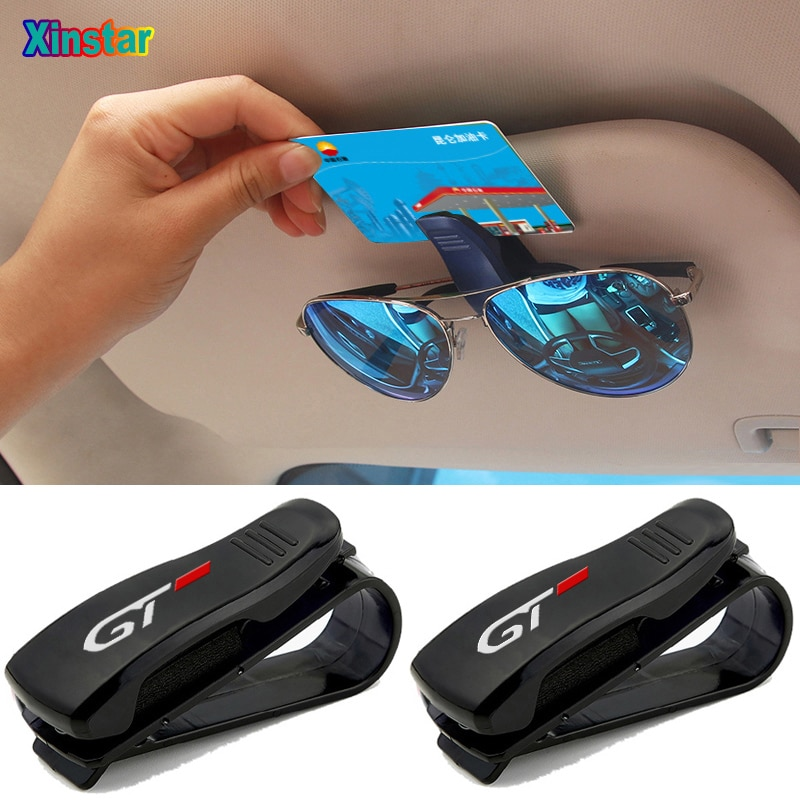 Plastic GT car Interior sticker car sunshade sticker For Peugeot 108 208 308 408 508 2008 3008 4008 5008