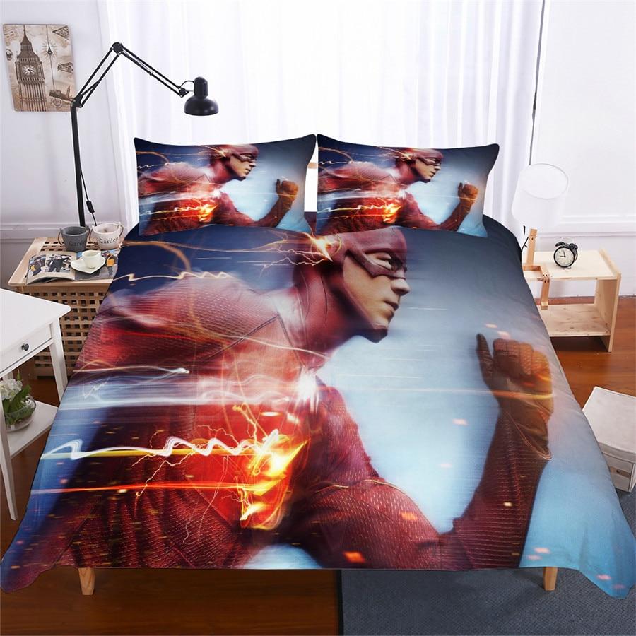 HELENGILI 3D Bedding Set Flash Print Duvet Cover Set Lifelike Bedclothes with Pillowcase Bed Set Home Textiles
