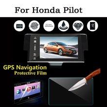 For Honda Pilot Car GPS Navigation Screen Protector Auto Interior Tempered Glass Film Car Accessories