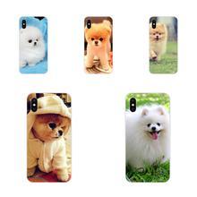 For Xiaomi Mi3 Mi4 Mi4C Mi4i Mi5 Mi 5S 5X 6 6X 8 SE Pro Lite A1 Max Mix 2 Note 3 4 Ultra Thin Pomeranian Dog Dogs