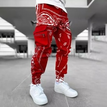 Cargo Pants Men Hip Hop Pant Men Trousers Fashion Streetwear Sweatpants For Men Joggers High Street