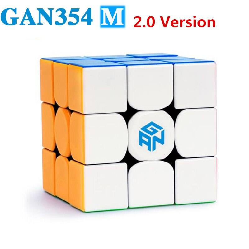 aosu gts m 4 4 4 magnetic magic cubes puzzle speed cube educational toys gifts for kids children GAN 354 M 3x3 Magnets Puzzle Magic Cube GAN354M Professional Speed Gans Cubes GAN 354M Magnetic Cube Magic Toys for Children