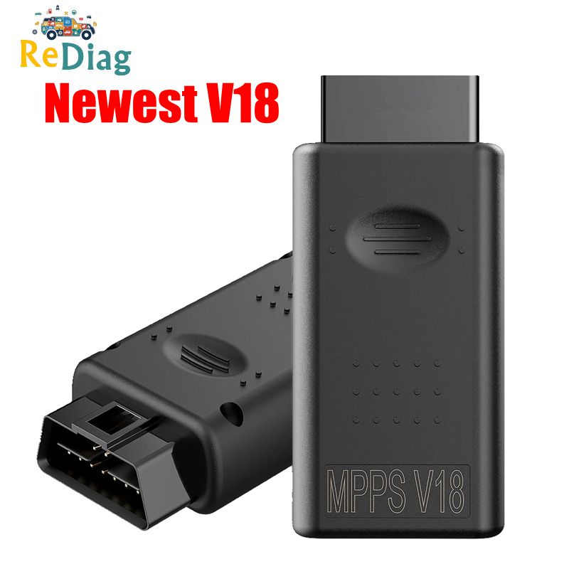 Diagnostic Tool MPPS V18 For MAIN + TRICORE + MULTIBOOT MPPS V18 with Breakout Tricore Cable Car Tool Support Multi-Languages