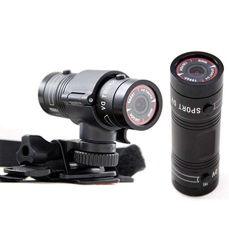 Новое поступление мини F9 камера HD велосипед мотоцикл Спорт Экшн камера видео DVR видеокамера Автомобильный цифровой видеорегистратор автом...
