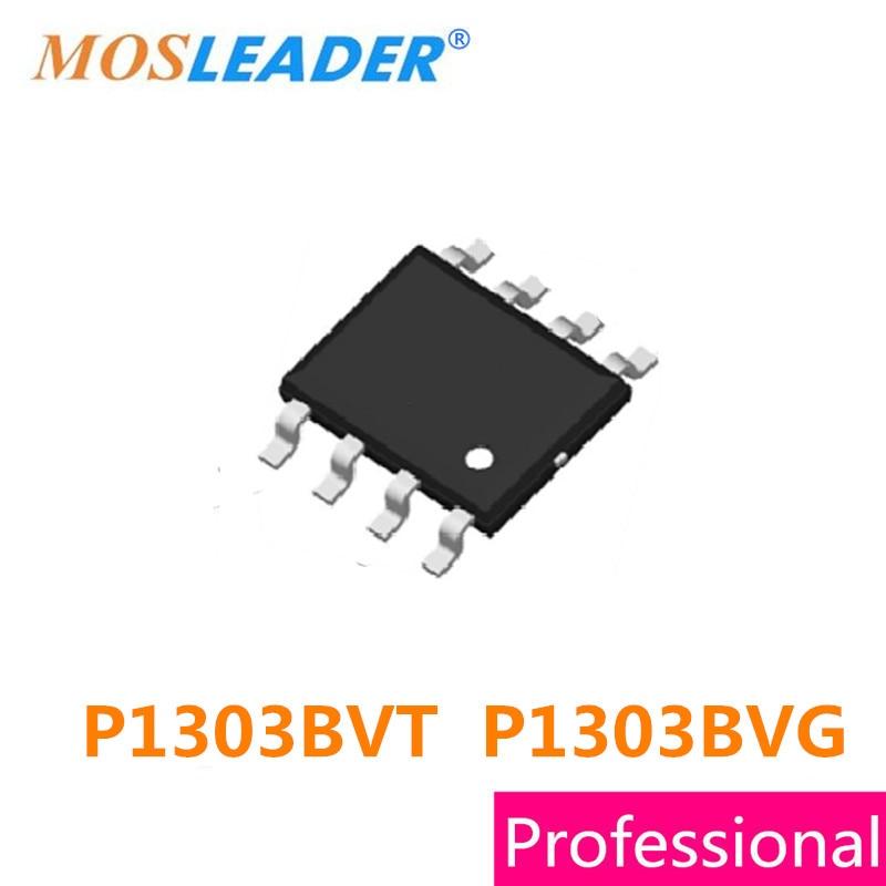 Mosleader 100 قطعة SOP8 P1303BVT P1303BVG P1303 P1303B عالية الجودة