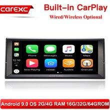 CarExc 10,25 Inch HD Bildschirm 1 din Android 9.0 Auto Multimedia-Player Mit CarPlay Radio Stereo für BMW E38 E39 E53 x5 Kopf Einheit