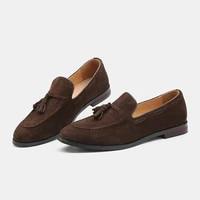 plus size 37 48 men casual shoes designer fashion elgant luxury autumn footwear leather social slip on loafers men