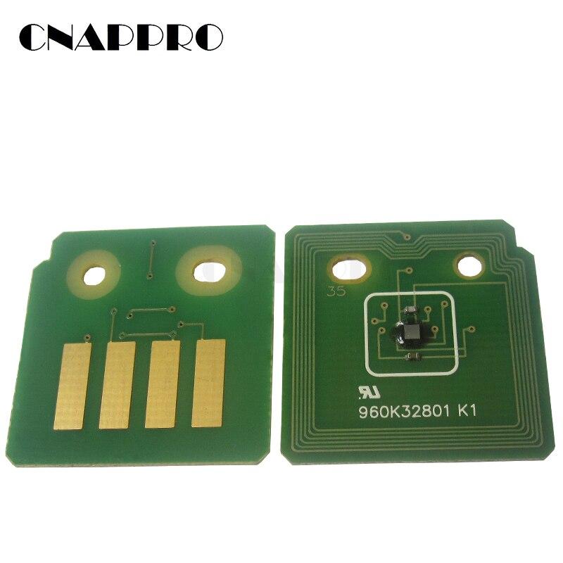 8 Uds 7100 Toner chip para Xerox Phaser 7100 Phaser7100 106R02612 106R02611 106R02610 106R02609 copiadora reajuste cartucho
