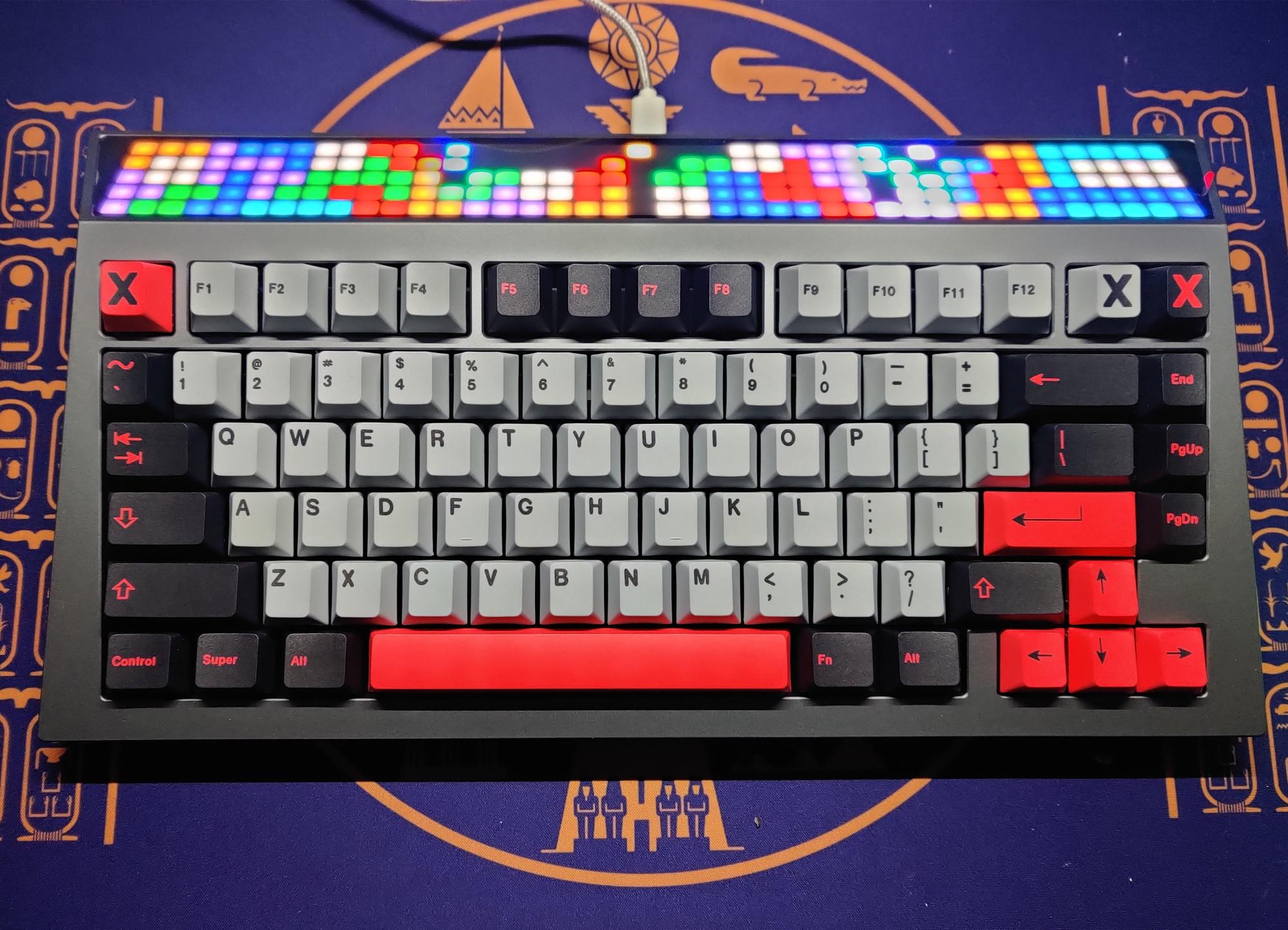 Juego de tapas de llave de amatista para teclado mecánico MX Switch, 1 Juego de 8008 puntos, Mizu, industrial pesado, para