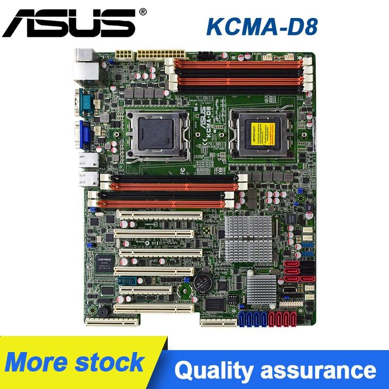 For ASUS KCMA-D8 Server motherboard Socket C32KCMA-D8 AMD 5670 DDR 3 8G 5XPCI-E 16X SATA II motherboard  Kit