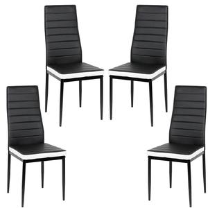 2pcs/set Kitchen Chair Dining Chairs Home Bar Nordic Style Modern Durable High Quality Chair Living Cafe Room Furniture HWC