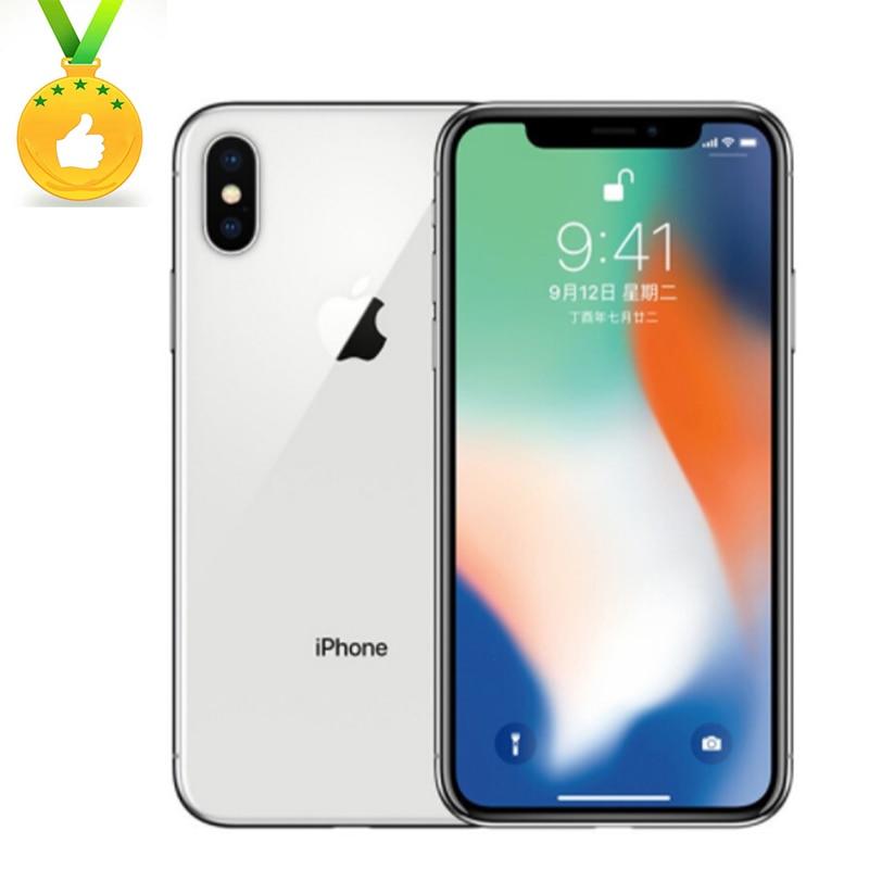 Apple-Store Globale Version iPhone X Gesicht ID 64GB/256GB ROM 3GB RAM12MP Hexa Core iOS a11 5,8 zoll Dual Zurück Kamera 4G LTE2716cAh