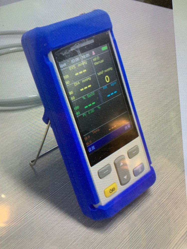 المحمولة الحيوية تسجيل رصد حماية لينة قذيفة اللون الأزرق