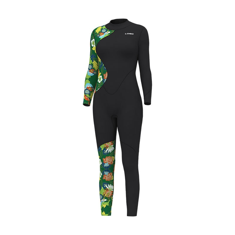 3MM Women Neoprene Scuba Underwater Surfing Spearfishing Diving Clothing Full Body Snorkeling Swim Bathing Wet Suit Equipment