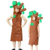 carnival party tree costume cosplay adult children costume party activities children dress up christmas tree service supplies